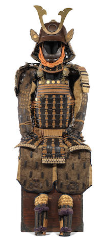 A nuinobe do tosei gusoku armour Mid to late Edo Period, 18th/19th century