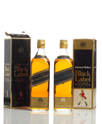 Johnnie Walker Black Label-Bottled 1970s (2)