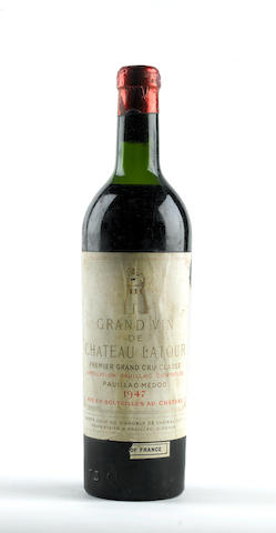 Chateau Latour 1947 (1)<BR>Chateau Lynch Bages 1962 (1)