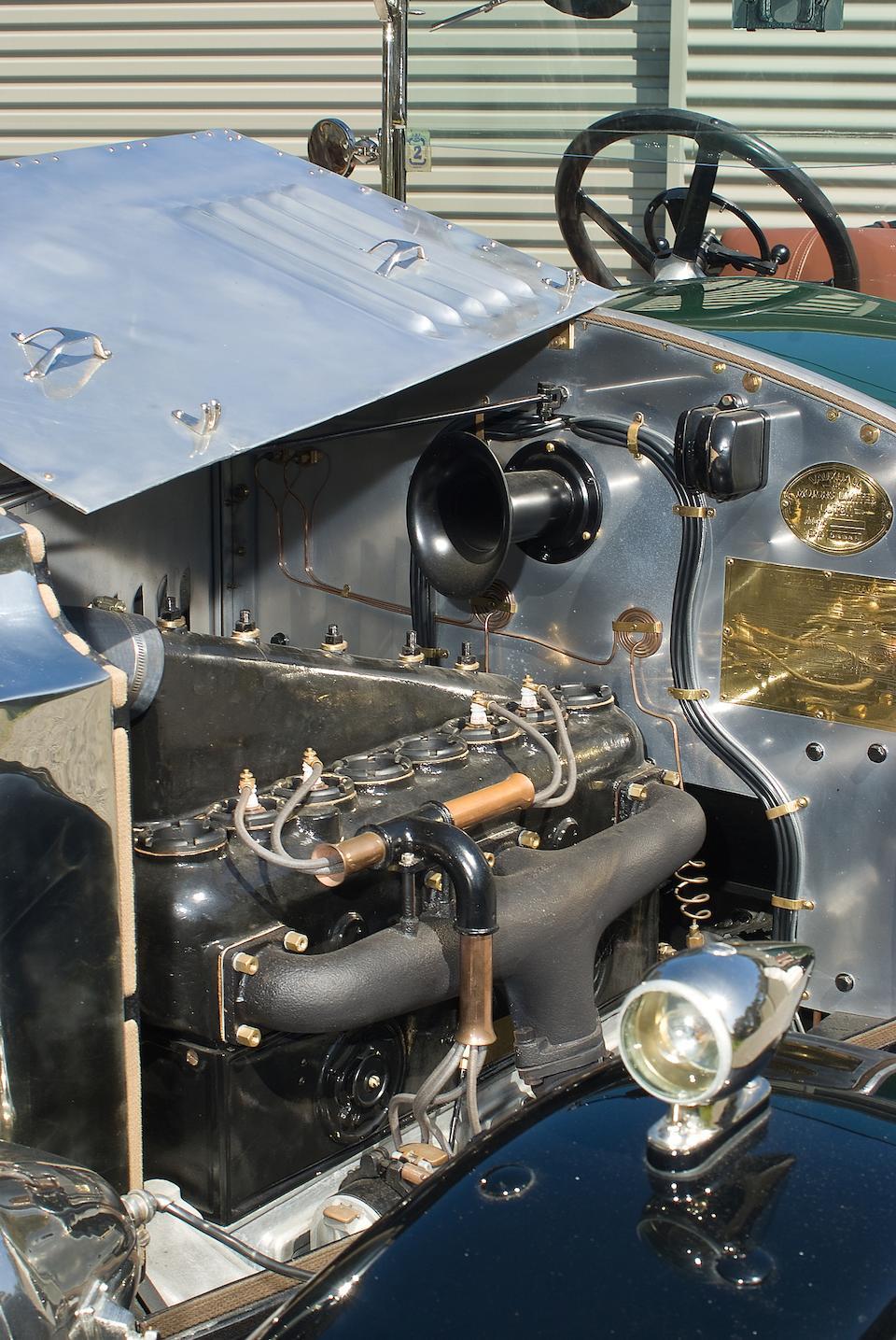 1920 Vauxhall 25hp D-type Kington Tourer  Chassis no. D2965 Engine no. D3118A