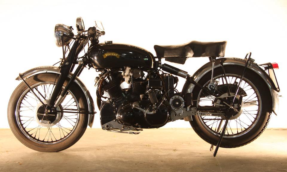 c.1950 Vincent 998cc Black Shadow Series C Frame no. RC6268B Engine no. F10A/1B/4368