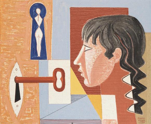 Mario Tozzi (Italian, 1895-1979) La Chiave, 1977