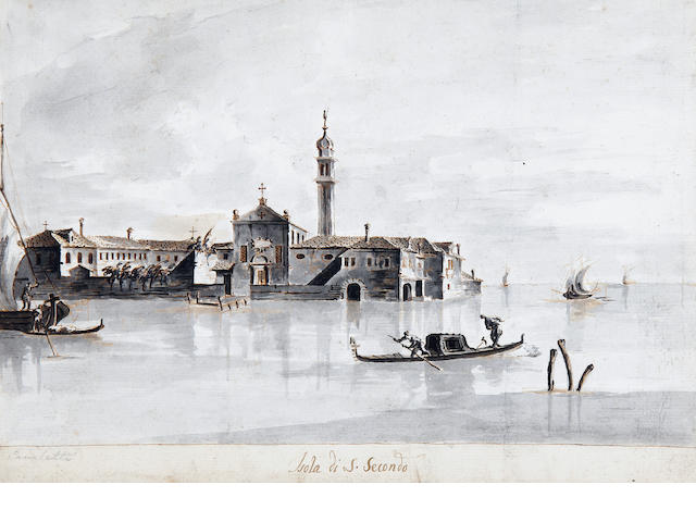Manner of Antonio Canal, called il Canaletto Isola di S. Secondo