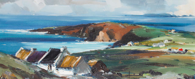 Kenneth Webb (Irish, born 1927) Bloody Foreland, Donegal
