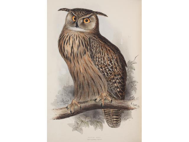 GOULD (JOHN) The Birds of Europe, 5 vol., 1837