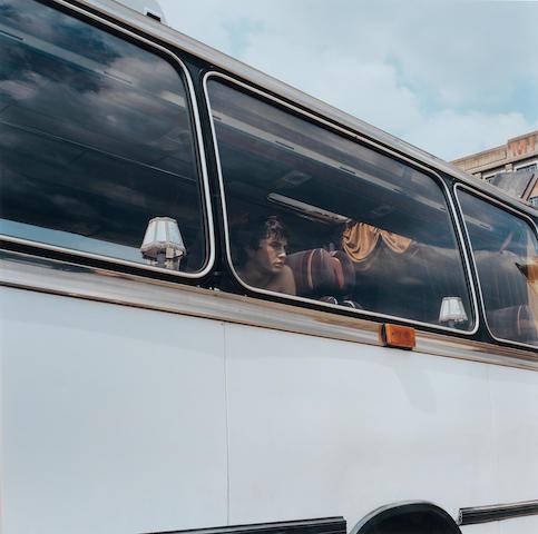 Sam Taylor-Wood (British, born 1967) Beautiful Boy (On Bus), 2001 48.5 x 48.5cm (19 1/8 x 19 1/8in).