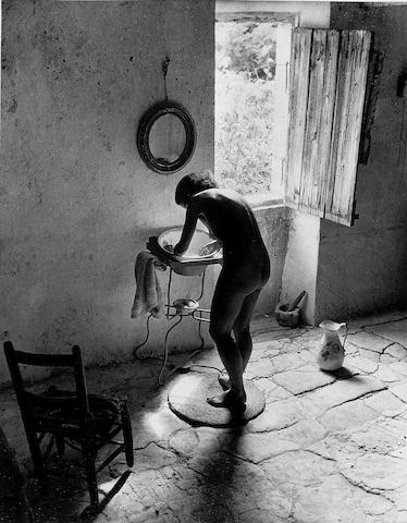 Willy Ronis (French, 1910-2009) Le Nu Provençal, Gordes, 1949