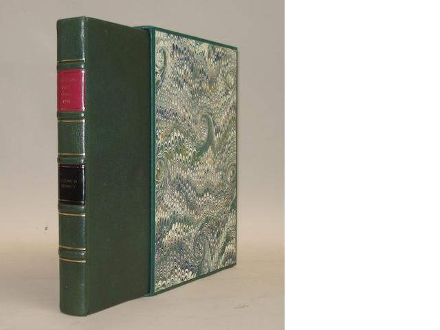 Elizabeth Bennett: Thousand Mile Trial 1900; a signed limited edition copy,