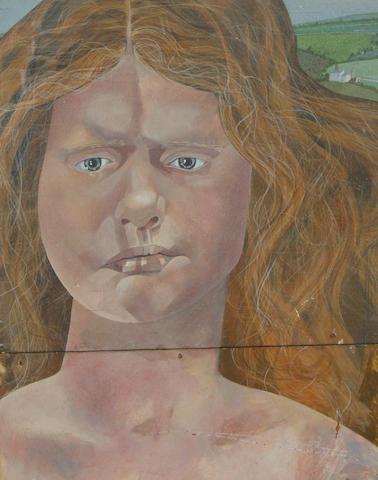 Bryan Ingham (British, 1936-1997) Portait of Heather Bolton