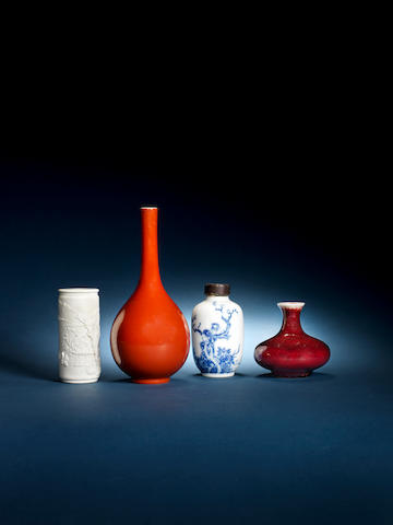 A study group of later ceramics Late 19th/20th century