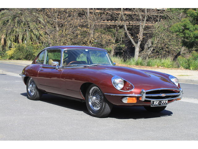 1969 Jaguar E-type Series 2 2+2 Coupe  Chassis no. 1R4944BW Engine no. 7R37559-9