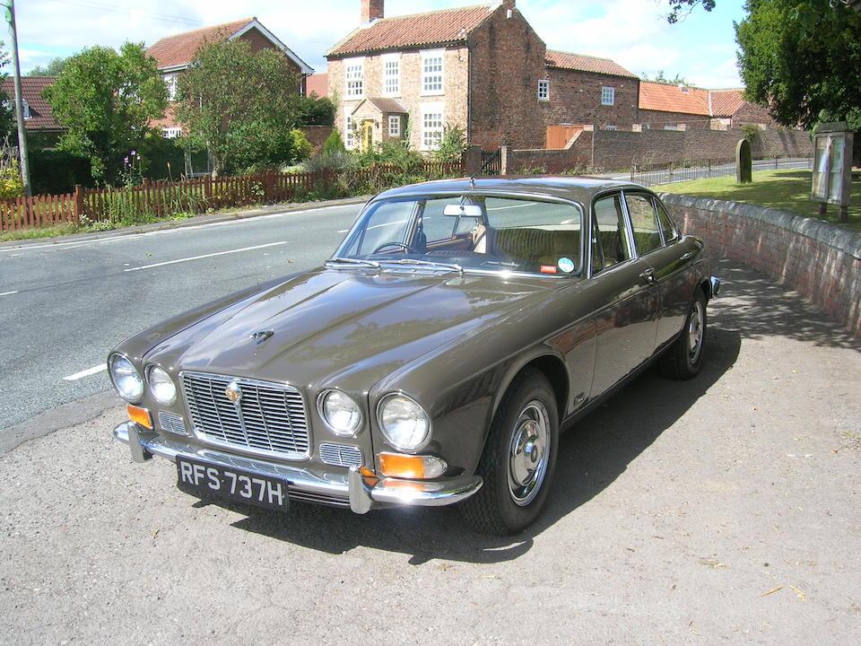 Bonhams : 1969 Jaguar XJ6 2.8-Litre De Luxe Saloon Chassis ...