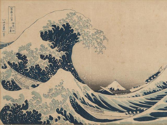 Katsushika Hokusai (1760-1849) Circa early 1830's