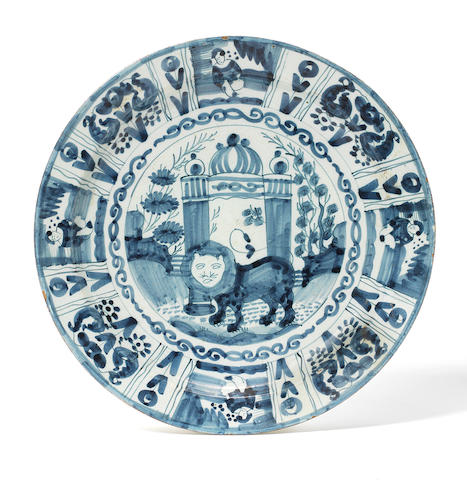 A Dutch Delft charger