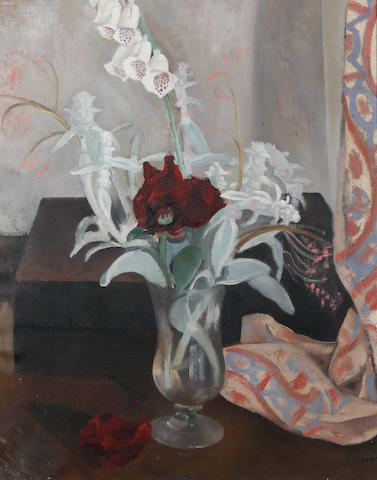 John Northcote Nash (British, 1893-1977) 'Flowers'