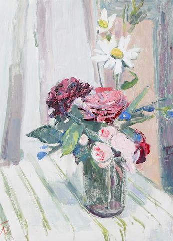 Margaret Thomas (British, born 1916) 'Old Roses'