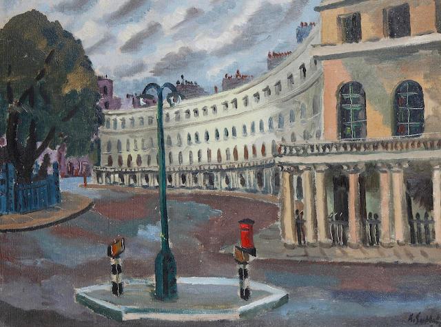 Rowland Suddaby (British, 1912-1973) Regent's Crescent