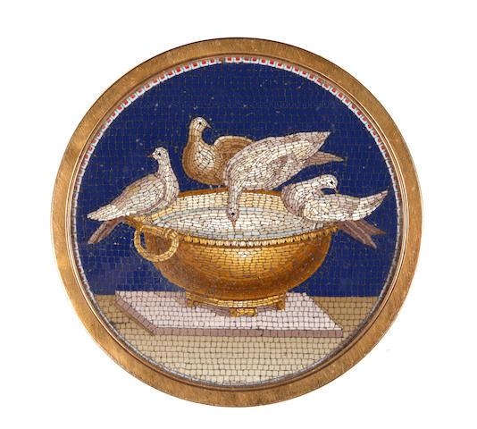 Late 18th Century box: micro mosaic lid