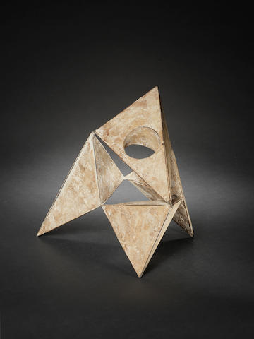 Lynn Chadwick (British, 1914-2003) Pyramids III 26 cm. (10 1/4 in.) high unique