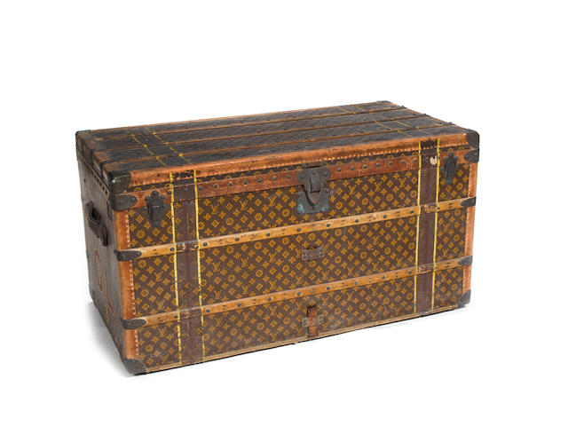 An early 20th Century steamer trunk by Louis Vuitton