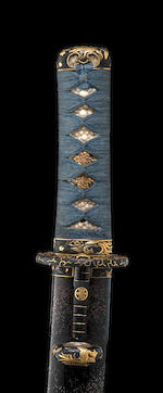 A finely-mounted shin-shinto o-tanto By Masahiro, 19th century