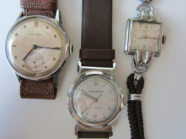 A lot of three various wristwatches
