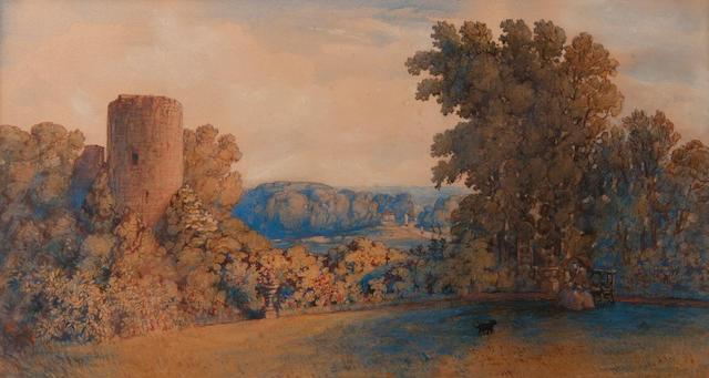 John Joseph Cotman (British, 1814-1878) The Old Tower, Bracondale