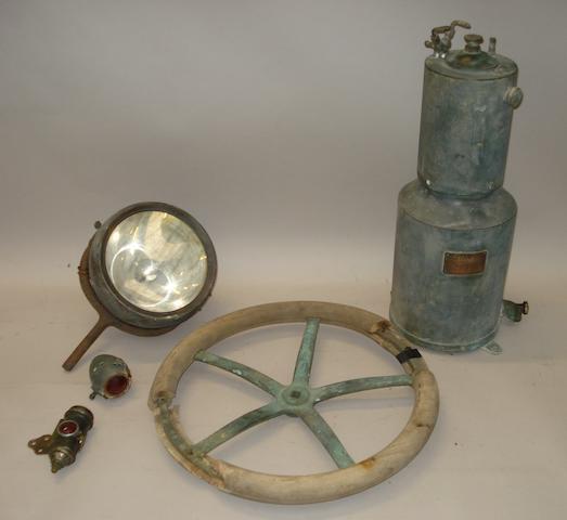 An acetylene generator