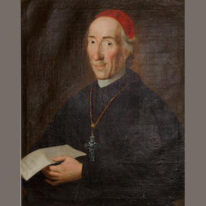 Italian condinal, 19th century School Portrait of a Cardinal,
