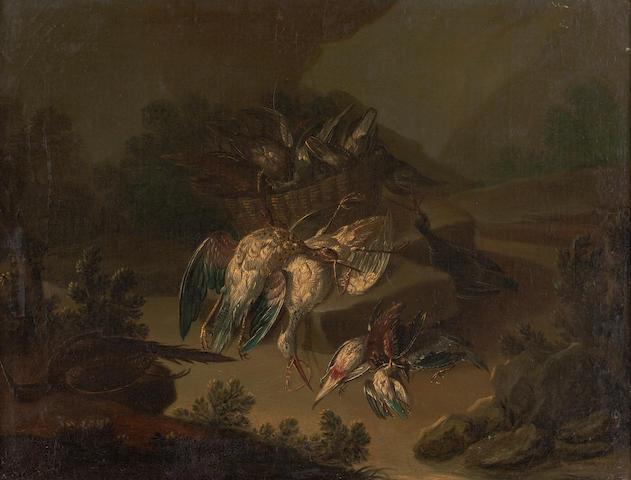 Louis (Lewis) Hubner (German, born circa 1694-1769)