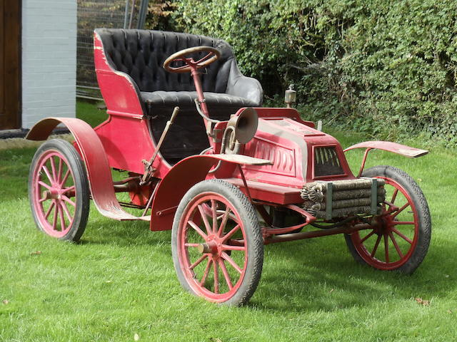 1904 Pope-Tribune Model II 6hp Two-seater Runabout  Chassis no. 287 Engine no. 359
