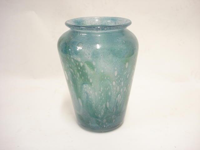 A Monart vase Shape GF