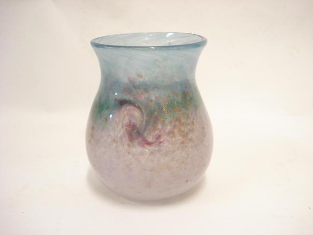 A Monart vase Shape SA
