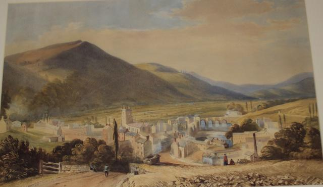Welsh School, (circa 19th century) Vale of Llangollen