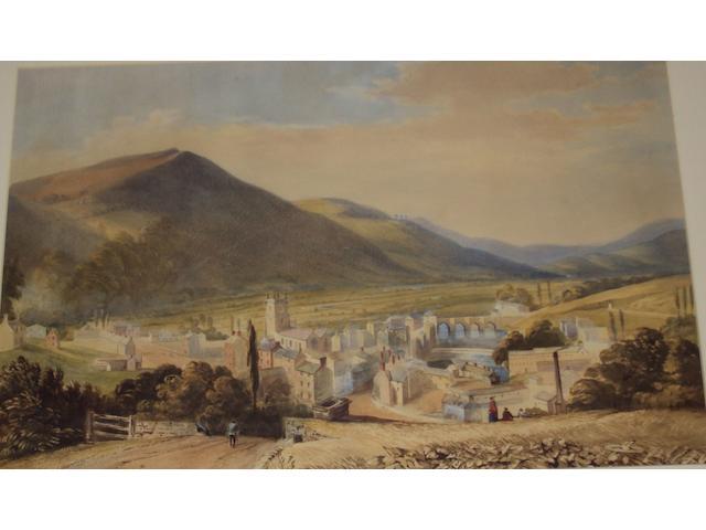 Welsh School, (circa 19th century) Vale of Llangollen