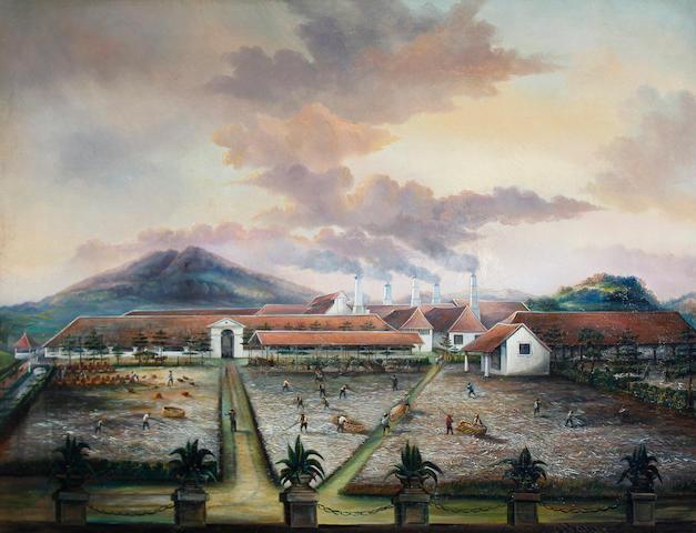 C. Bauer, mid 19th Century A sugar plantation, Trinidad