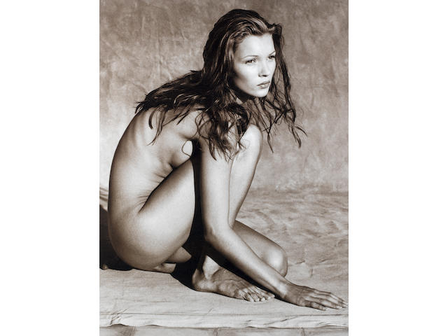 Albert Watson (Scottish, born 1942) Kate Moss, Marrakech, Morocco, 1993