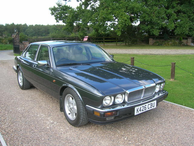Offered from a single owner collection,1993 Jaguar XJ6/XJ40 4.0-Litre Saloon  Chassis no. SAJJFLD3AJ677007 Engine no. 9EPCNA172083