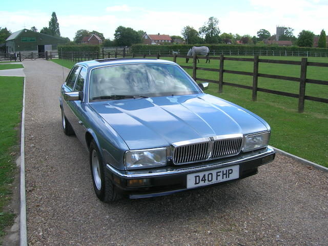 1987 Jaguar Sovereign 3.6-Litre Saloon  Chassis no. SAJJHALH3AA506117 Engine no. 9DPAMA108785