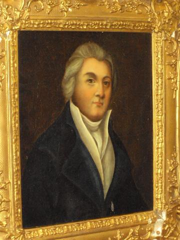 British School, circa 1800 Portrait of a gentleman
