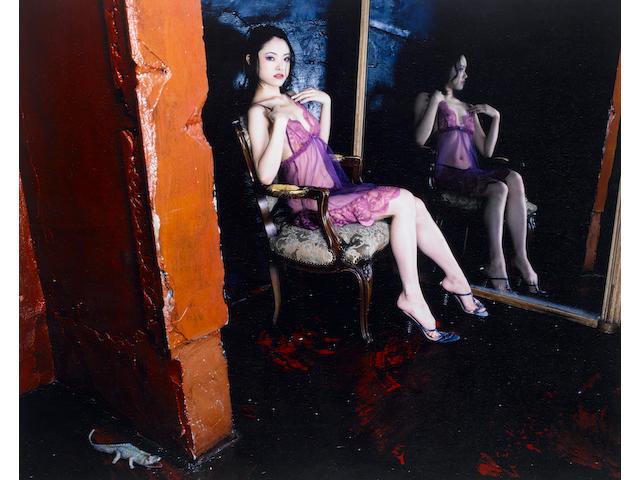 Nobuyoshi Araki (Japanese, born 1940) Kaori, c. 2004 Sight area 59.3 x 74.8cm (23 3/8 x 29 7/16in).