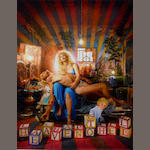 David LaChapelle (American, born 1964) Courtney Love: Pieta, Los Angeles, 2006 60.5 x 50.5cm (23 13/16 x 19 7/8in).