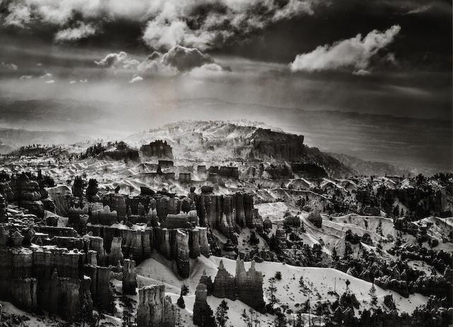 Sebastião Salgado (Brazilian, born 1944) Bryce National Park, Utah, U.S.A., 2010 Paper 50 x 60.4cm (19 11/16 x 23 3/4in), image 37.5 x 51.6cm (14 3/4 x 20 5/16in).