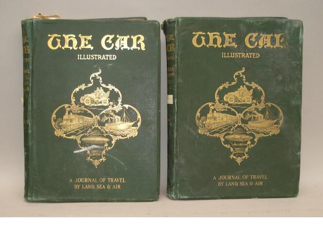 The Car Illustrated; bound Volumes I-II, 1902,