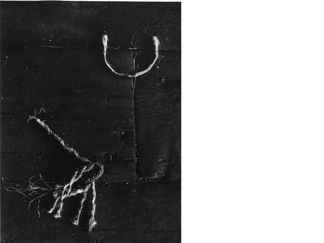 Aaron Siskind (American, 1903-1991) Gloucester 28, 1944 Paper 35.3 x 27.9cm (13 7/8 x 11in), image 32.2 x 24.1cm (12 11/16 x 9 1/2in).