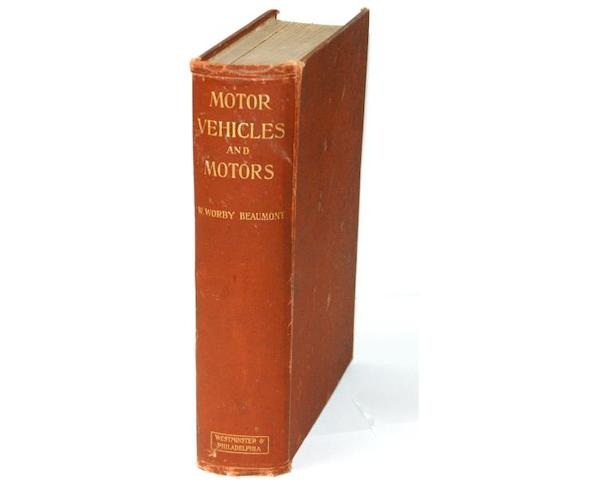 W.Worby Beaumont: Motor Vehicles and Motors (1902 Edition)