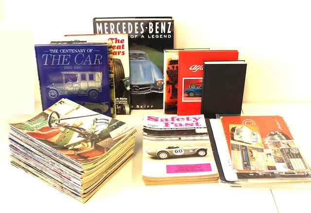 A collection of Motoring Books