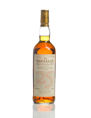 The Macallan Anniversary- 1972- 25 year old