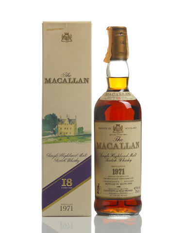 The Macallan-1971-18 year old