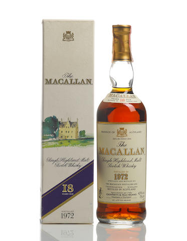 The Macallan-1972-18 year old